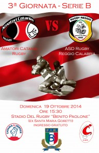 Amatori CT vs RC locandina