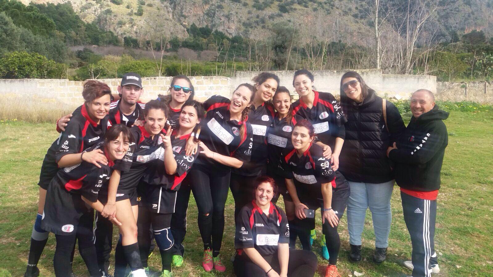 nella foto le Ladies vittoriose a Palermo